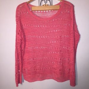 Elizabeth and James L crochet sweater